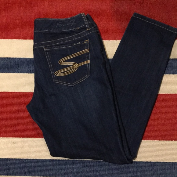 Seven7 Denim - Seven7 Jeans stretchy straight leg Sz 31